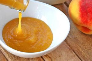 bulk peach puree